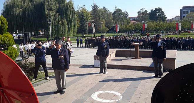 19 Eylül Gaziler Günü Bolu'da Kutlandı