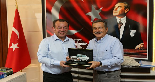 Ahmet Ataç'tan Başkan Özcan'a ziyaret