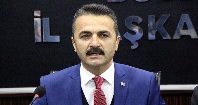 AK Parti Bolu İl Başkanı Nurettin Doğanay; '27 bin 599 hemşerimize hayırlı olsun'
