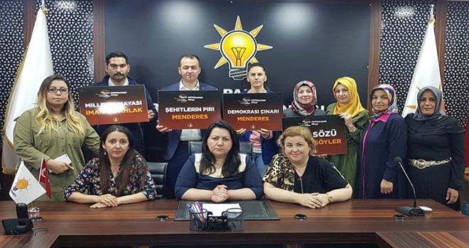 AK Parti Teşkilatları 27 Mayıs'ı unutmadı...