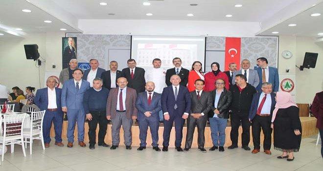 ARZU AYDIN İSTANBUL'DAKİ BOLULULARLA İFTAR'DA BULUŞTU
