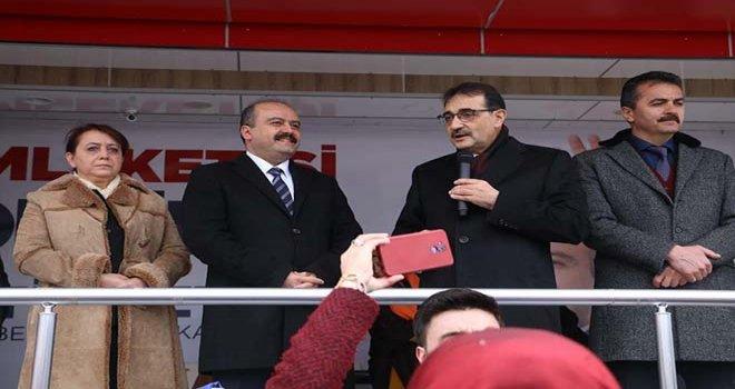 """Bakan Dönmez """"BOLU KALKINIRSA TÜRKİYE KALKINIR """""""