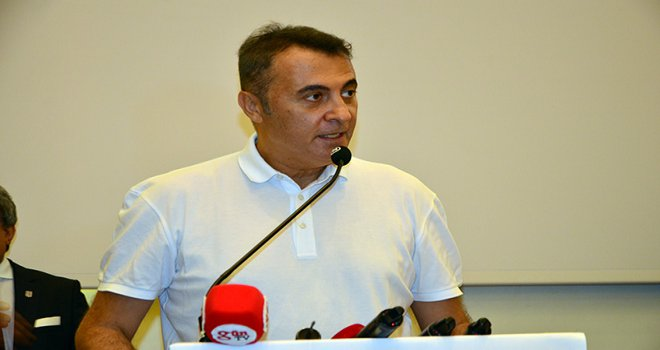 Başkan Orman; 'Beşiktaş sadece maç için Avrupa'ya gidecek'