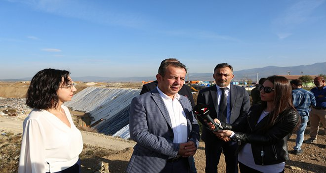 Başkan Özcan; 'Artık 2030 yılına kadar Bolu'nun çöp depolama alanı ihtiyacı yok'