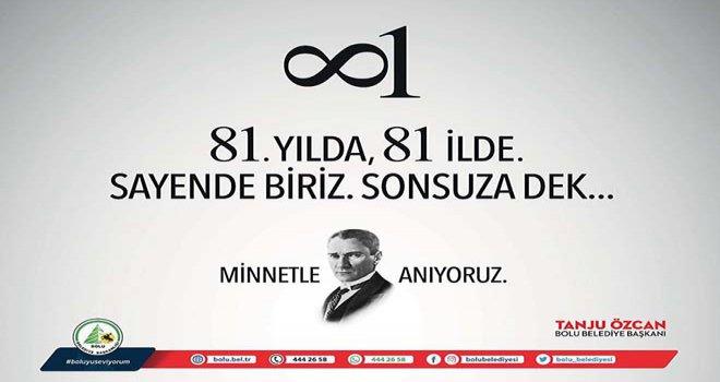 Başkan Özcan'ın 10 Kasım Mesajı