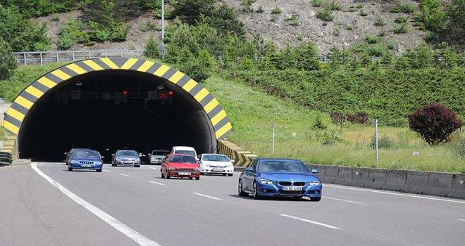Bayram tatilinde Bolu'dan 710 bin araç geçti
