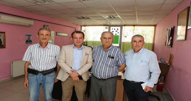 Belediye Başkanı Özcan muhtar ziyaretlerini sürdürüyor
