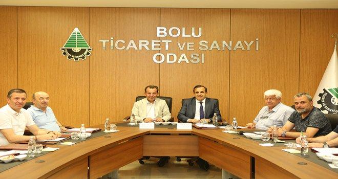 Belediye Başkanı Tanju Özcan iş dünyası temsilcileri ile buluştu