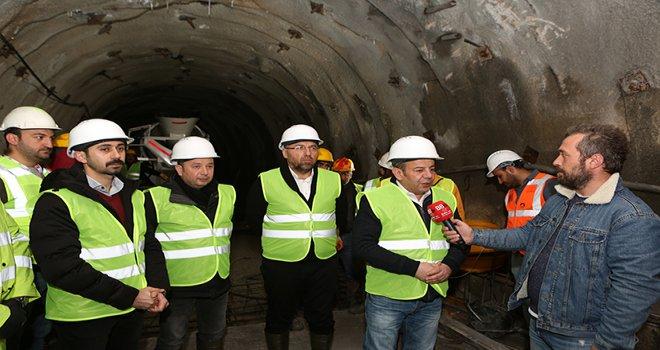 Bolu Belediye Başkanı Özcan müjdeyi verdi: 'Karadere suları 8-9 ay içinde Bolu'ya ulaşacak'