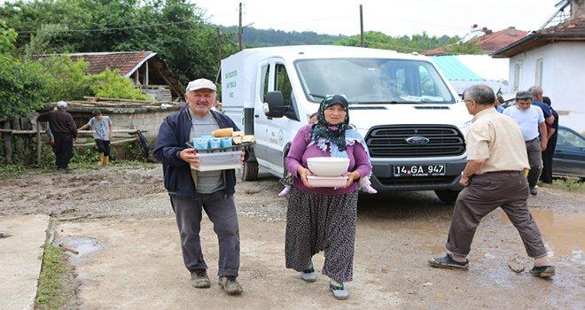 Bolu Belediyesi'nden selzedelere yemek ikramı