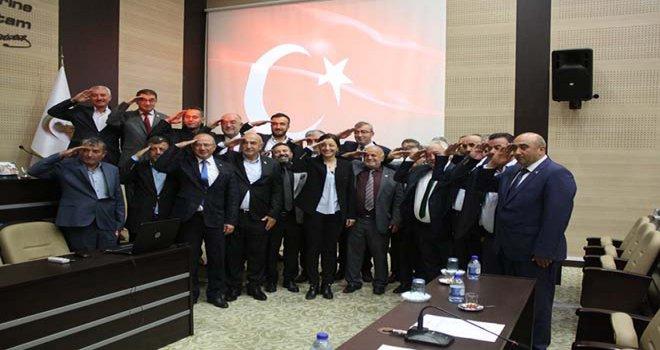 Bolu İl Genel Meclisi, kahraman Mehmetçiklerimizin yanında