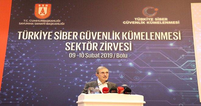 Bolu'da Türkiye Siber Güvenlik Kümelenmesi Sektör Zirvesi Çalıştayı düzenlendi