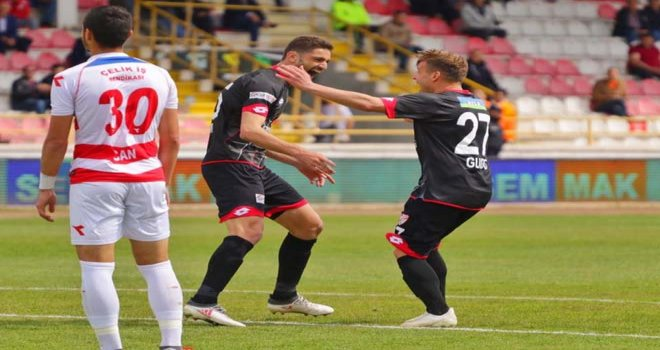 Boluspor: 4 - Kardemir Karabükspor: 0
