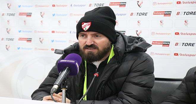 Boluspor Yardımcı Antrenörü Fatih Çardak 'Bu maçın telafisini yapacağız'