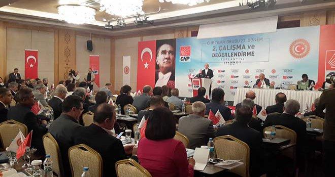 CHP Lideri Kemal Kılıçdaroğlu Bolu kampında önemli açıklamalarda bulundu