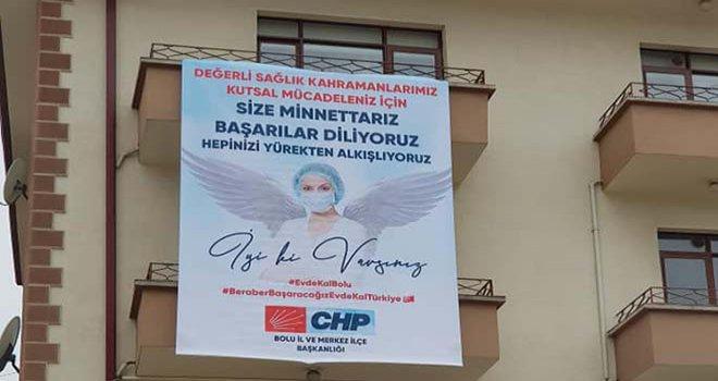 CHP'den sağlık çalışanlarına tam destek
