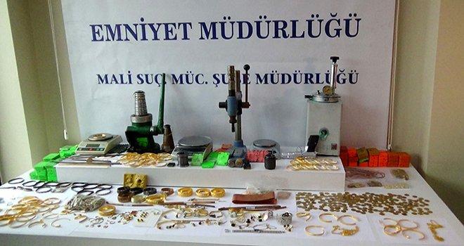 Çökertilen 'sahte altın' çetesinde 43 kişi tutuklandı