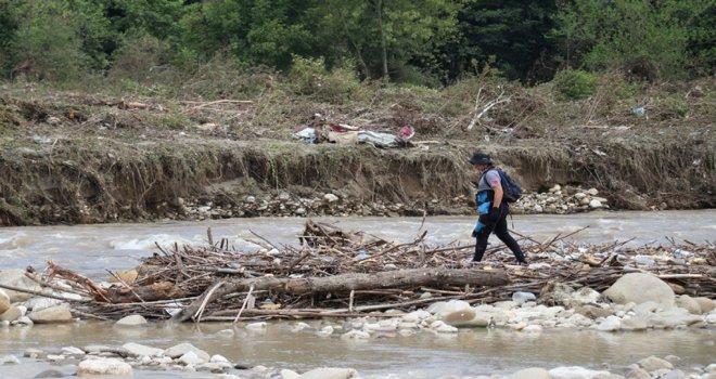Düzce'de, selde kaybolan 2 çocuğu arama çalışmaları 10'uncu gününde devam ediyor