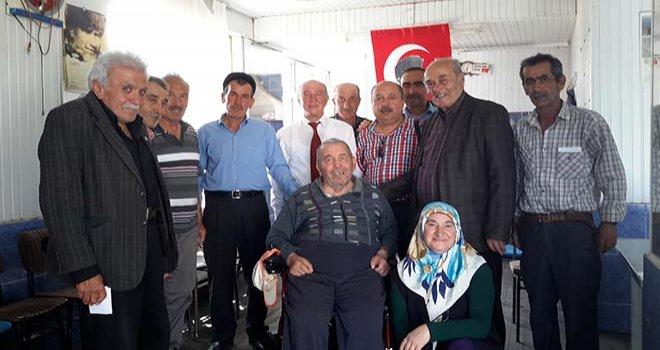 Emekli öğretmen Alaaddin Yıldırım, Yeni Akülü Tekerlekli Sandalye'sine Kavuştu