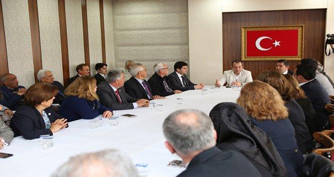 İYİ Parti'den Başkan Özcan'a ziyaret