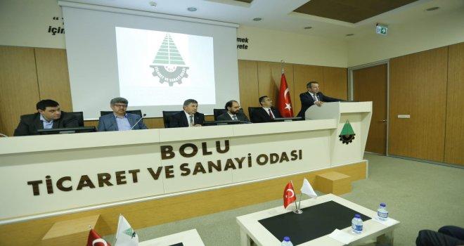ÖZCAN TSO MECLİS TOPLANTISINA KATILDI