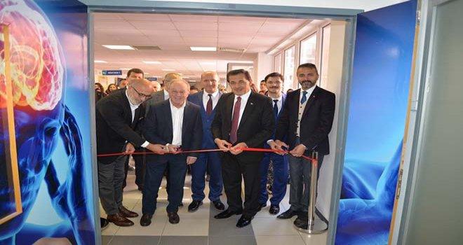 Prof. Dr. Mehmet Reha Tolun İnme Merkezi Açıldı