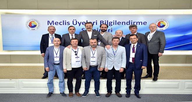 TSO MECLİSİ TOBB MECLİS ÜYELERİ BİLGİLENDİRME SEMİNERİ'NDE