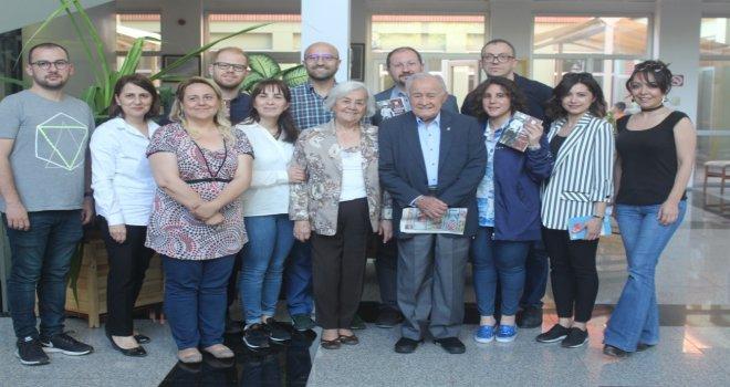 Yazar Ahmet Baysal Bolu Kitap Kulübü'nün söyleşine katıldı