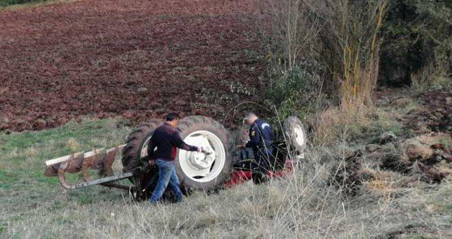 Yine Traktör kazası yine can kaybı!